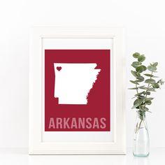 Arkansas Print