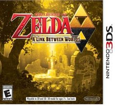 Legend of Zelda: Link between Worlds (Nintendo 3DS)