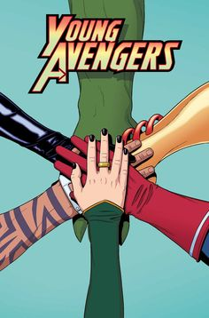 """YOUNG AVENGERS #12 KIERON GILLEN (W) JAMIE MCKELVIE (A/C) • The Young Avengers versus """"The Young Avengers"""". The stakes? What have you got? • Loki's scheme reaches its final twist. Expect the team's jaws to just hit the floor and lie there, twitching for the rest of the comic. • A tempting offer for Noh-Varr may get an arrow through his head. Other romance based drama too, as kissing is the new planetary extinction event. 32 PGS./Rated T+ …$2.99"""