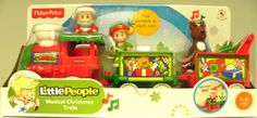 Amazon.com: Fisher-Price Little People Musical Christmas Train: Toys & Games