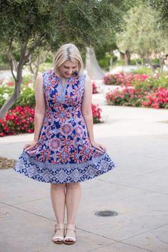 Stitch Fix Review June 2017: Isn't this Adorne Cornelia Dress adorable? I love a great summer dress!