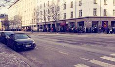 ECONOMY Leipäjonot ovat pidentyneet Helsingissä alkuvuodesta 2016