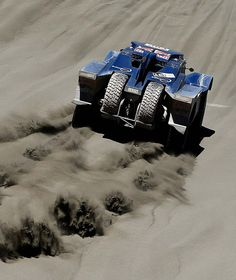 Dakar Rally 2014  Buggy driver Carlos Sainz of Spain and co-pilot Timo Gottschalk of Germany race during the second stage, between the cities of San Luis and San Rafael in San Rafael, Argentina. (Photo by Victor R. Caivano/Associated Press)