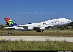 ZS-SAZ South African Airways Boeing 747-400