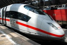 How Hot are German ICE Trains? (Inter-City Express)