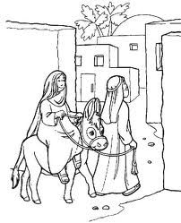 Joseph And Mary Traveled To Bethlehem