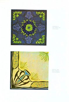Design - Paper - Art nouveau abstract - (4)