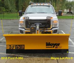 2015 Ford F-350 Meyer Lot Pro 8. Snow Plow, Over The Years, Ford