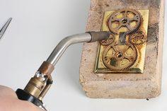 Steampunk Home Decor - Light Switch Plates   The Steampunk Workshop