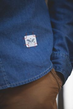 Denim accessories and parts (selection) / details / Second Street