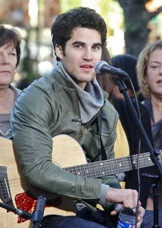 Darren Criss on the street