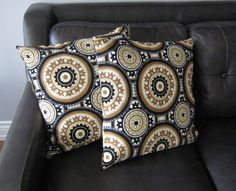 Home decor,Cushion covers,patio decor,set of 2 black/gray/beige pillow covers,home accent,pillow covers by Designs by Willowcreek on Etsy by DesignsByWillowcreek on Etsy Old Pillows, Accent Pillows, Cushions, Beige Pillow Covers, Cushion Covers, Pillow Forms, Outdoor Fabric, Home Accents, Color Splash