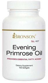 How can a yellow flower help your PMS? Bronson's Evening Primrose Oil is rich in the omega-6 fatty acid, GLA (gamma-linolenic acid). And since it is such a good source of omega-6 fatty acids, Evening Primrose Oil is good for your heart, brain, and overall health. 100% Customer satisfaction,... more details at http://supplements.occupationalhealthandsafetyprofessionals.com/herbal-supplements/evening-primrose/product-review-for-bronson-evening-primrose-oil-500-mg-100-softg