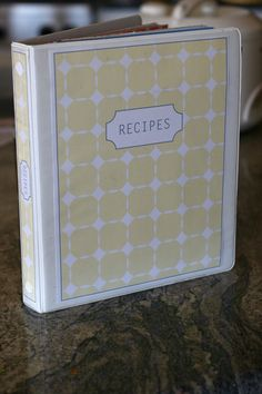 FREE recipe binder templates to download and organize your recipes