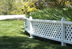 """16"""" x 4' Fence Topper Extension Kit ~ Lattice Ready – SnapFence"""