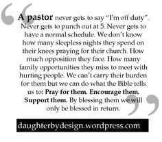 Thank You Pastor Quotes. QuotesGram