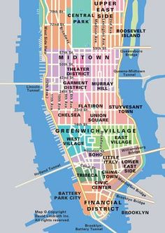 map of manhattan and queens bridges - Google Search