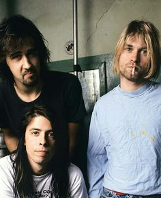 Nirvana Band, Nirvana Kurt Cobain, Music Love, Rock Music, Kurt And Courtney, Pretty Songs, Dave Grohl, Alternative Music, Foo Fighters