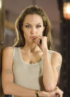 angelina jolie in wanted #tattoos