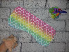 Excited to share this item from my #etsy shop: Handmade Burp Rag- Rainbow Mermaid- Burp Cloth #burprag #burpcloth #spitrag #spitcloth #droolcloth #welcomebaby #babyshowergift #rainbowscales #mermaidbaby Baby Burp Rags, Baby Mermaid, Special Needs Kids, Welcome Baby, Burp Cloths, Baby Shower Gifts, Rainbow, Etsy Shop, Fabric