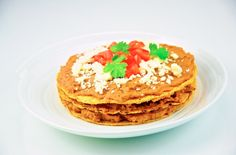 Bean and Cheese Tostadas #MeatlessMonday