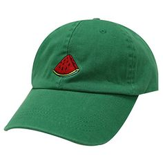 City Hunter, Dad Caps, Kelly Green, One Size Fits All, Baseball Cap, Watermelon, Fashion Brands, Dads, Unisex
