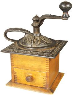 Antique Coffee Mill : Lot 278