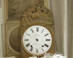 Fronte di orologio orologio-fai da te con le rose gialle