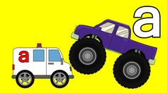 Monster Trucks Teaching Children Lowercase Letters and Crushing Cars Watch our monster trucks for children videos and learn! Our kids cartoons of monster tru. Monster Truck Videos, Monster Trucks, Kids Fun, Our Kids, Truck Videos For Kids, Color Shapes, Educational Videos, Cartoon Kids, Letters And Numbers