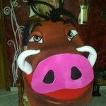 pumba, rey leon pumba ,cerdo , jabali , rey leon difraz, disfraz de jabali , carnavales
