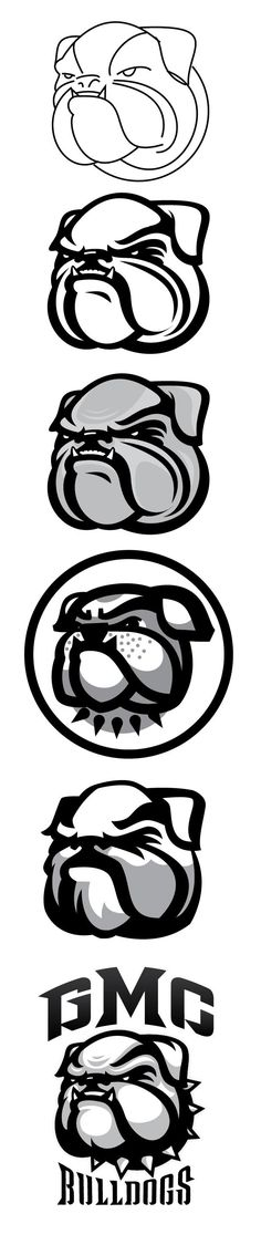 Bulldog Logo Refresh by Bennie Wells - Skillshare