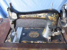 The Free ANtique Sewing Machine