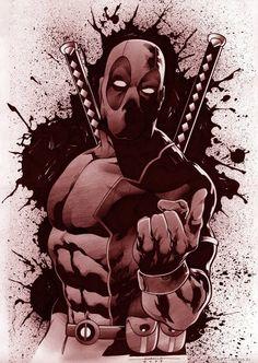 Deadpool by Marcelo Mueller