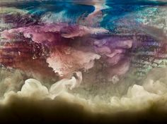 "Abstract 20528, 28x36"", 44x58"", 2015, www.kimkeever.com"