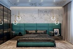 163 warm and cozy master bedroom decorating ideas that you need to copy right now 12 Luxury Bedroom Design, Bedroom Bed Design, Bedroom Furniture Design, Home Bedroom, Bedroom Designs, Girls Bedroom, Bedroom Photos, Teal Bedroom Decor, Bedroom Ideas