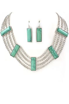 Turquoise Notte Necklace
