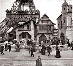 Exposition Universelle. Tour Eiffel 1889.