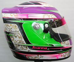 Kart Helmet Design #178 ~ Hand Painted Helmets - Design your helmet today..!!
