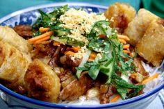 Recette de Salade Bo Bun au poulet citronnelle