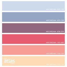 @designseeds X Color Atlas by Archroma®️ >>> from the { pastel punch } vignette ~ candied hues