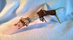 Rose quartz deer antler wand by ThePurpleDoor2 on Etsy