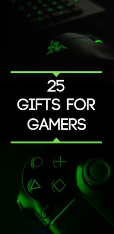25 Fantastic gift ideas for a gamer. Gift ideas for teens and gamers. Gifts For Gamer Boyfriend, Gamer Gifts, Birthday Gifts For Boyfriend, Gift Guide For Men, Best Gifts For Men, Gifts For Teens, Goft Ideas, Custom Gaming Computer, Stocking Stuffers For Boys