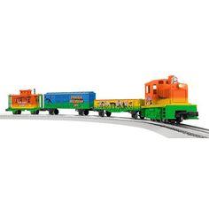 Lionel Trains Lionel Junction Dinosaur O Gauge LionChief Remote Control Train Set, Multicolor