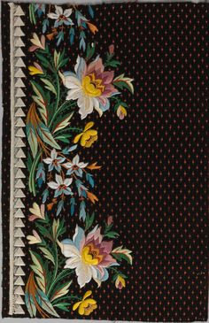 """Elaborate Embroidery: Fabrics for Menswear before 1815"" is on view through July 19.  http://met.org/1CTyBjw"
