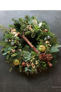 Fresh Christmas Wreath | www.ksflower.jp/featured/fresh-chri… | Flickr