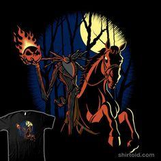 King of the Hollow #JackSkellington #HeadlessHorseman #TheNightmareBeforeChristmas #TheLegendofSleepyHollow