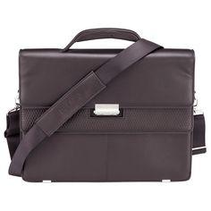 Delsey Chaillot Businesstasche 2 Fächer mit PC Schutz Braun
