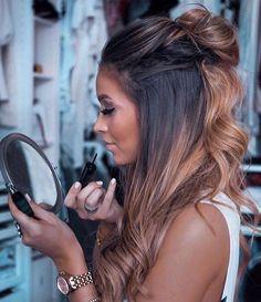 22 new beautiful hair color trends for 2019 - # for # hair color trends . - 22 new beautiful hair color trends for 2019 – - Gorgeous Hair Color, Brown Blonde Hair, Black Hair, Dark Ombre Hair, Blonde Honey, Hair Images, Hair Color Balayage, Balayage Brunette Long, Hair Color For Brown Skin
