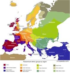 Europe DNA Map