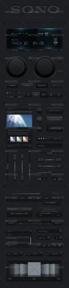 SONO User interface Set